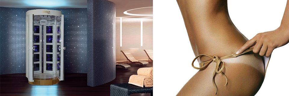 DOCCIA ABBRONZANTE MAGIC SHOWER 615VD 6 COLONNE PER SOLARIUM